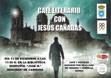 Cartel cafe literario